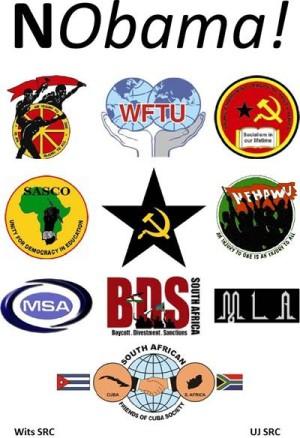 En Afrique du sud, le Parti communiste et le syndicat de classe COSATU organisent les manifestations contre la visite d'Obama