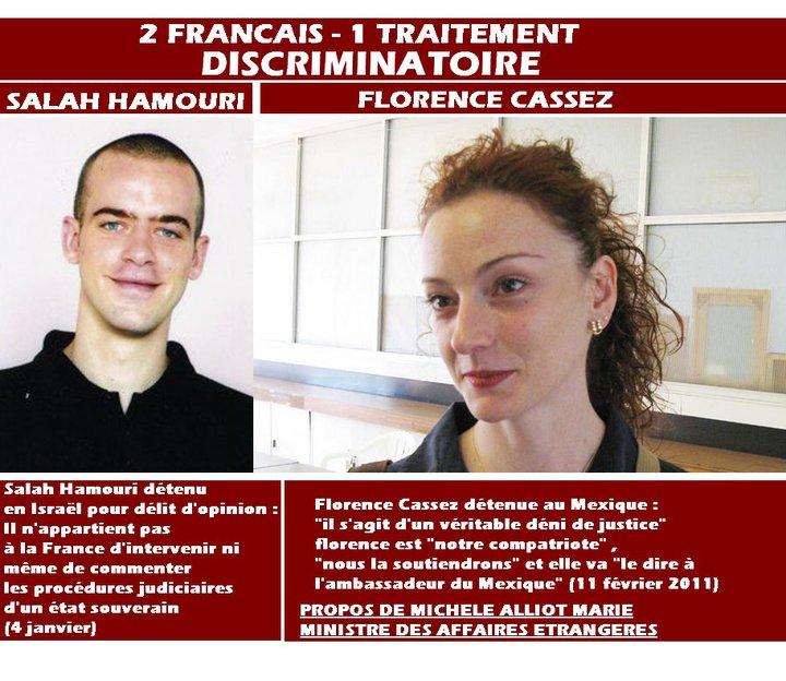 Florence Cassez et Salah Hamouri