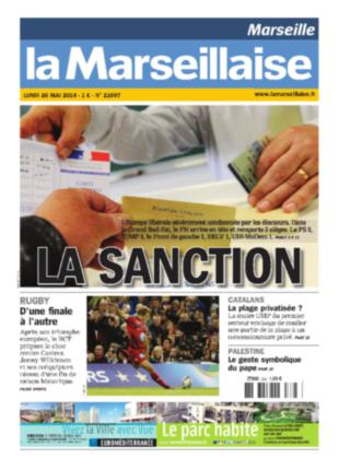 sanction la Marseillaise