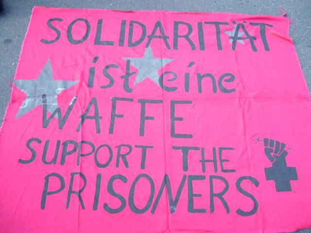 support the prisoners