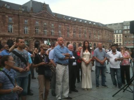 Syrie solidarité à Strasbourg avec Roland Ries et Alsace-Syrie