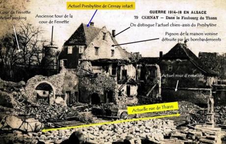 Sauver le patrimoine architectural de Cernay