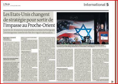 Vers un ultimatum européen à Israël?