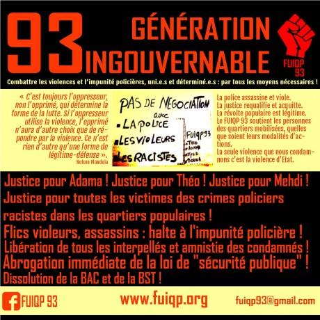 visuel FUIQP 93 Crimes Policiers