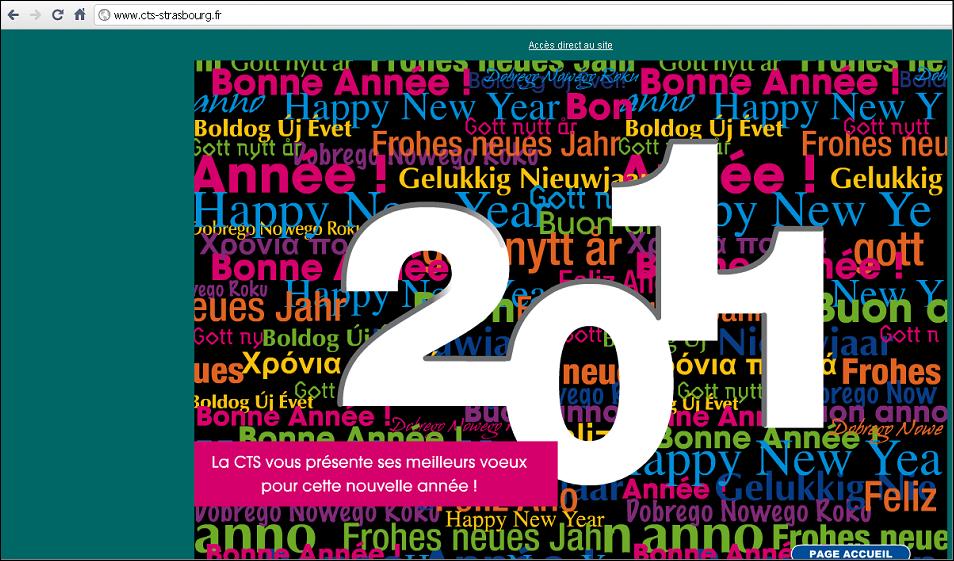 La feuille de chou la cts vous souhaite une bonne ann e - Bonne annee dans toutes les langues ...