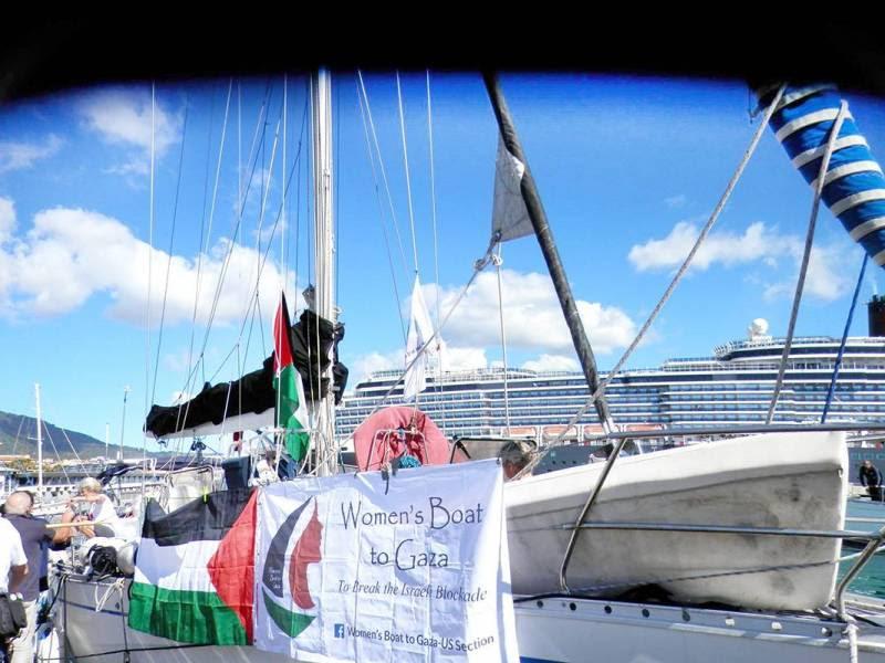 Un bateau de femmes pour Gaza