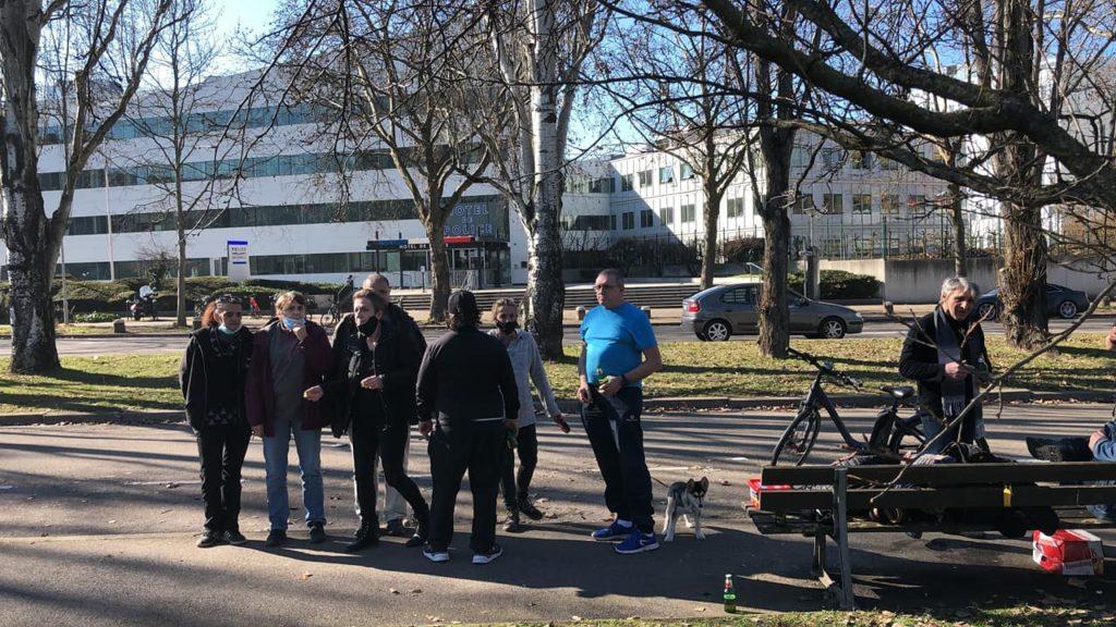 Avant et après la manifestation du 20 février à Strasbourg, répression tous azimuts