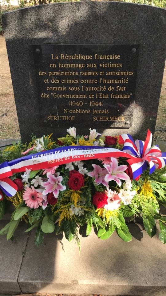 Commémoration à Strasbourg de la rafle du Vel d'Hiv  et crimes sionistes