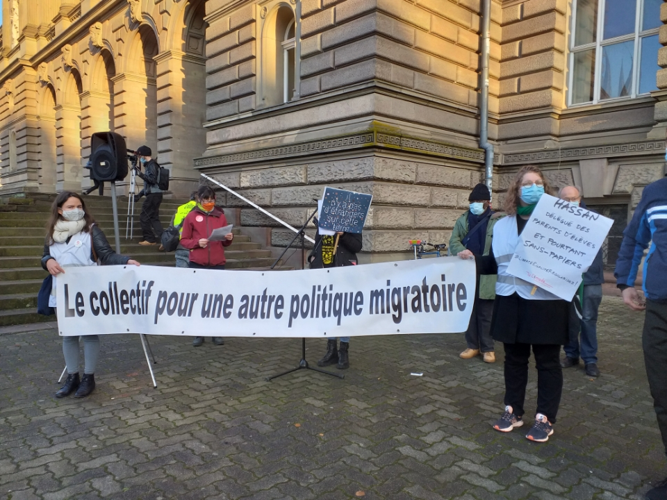 Journée internationale des migrants à Strasbourg