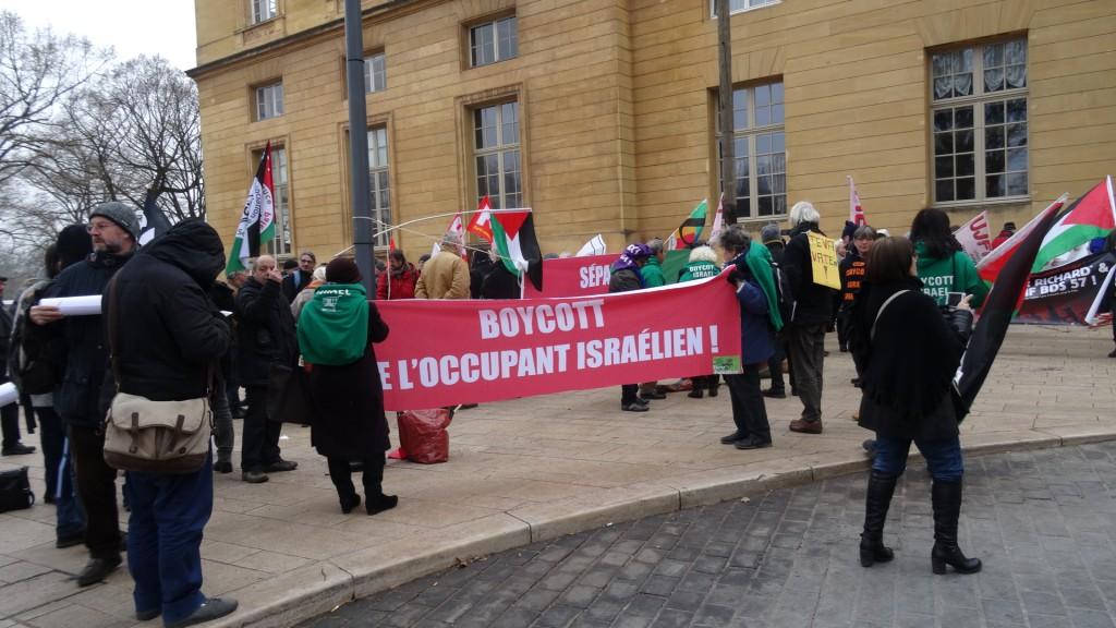 Des élus français au secours de l'apartheid en Palestine