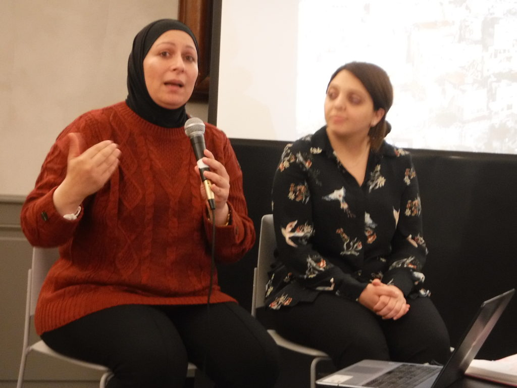 Deux Palestiniennes au FEC à Strasbourg