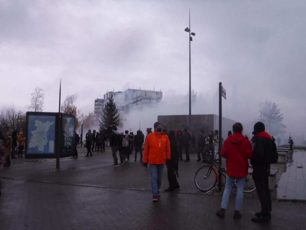 2400 manifestant.e.s encore à Strasbourg contre les lois liberticides
