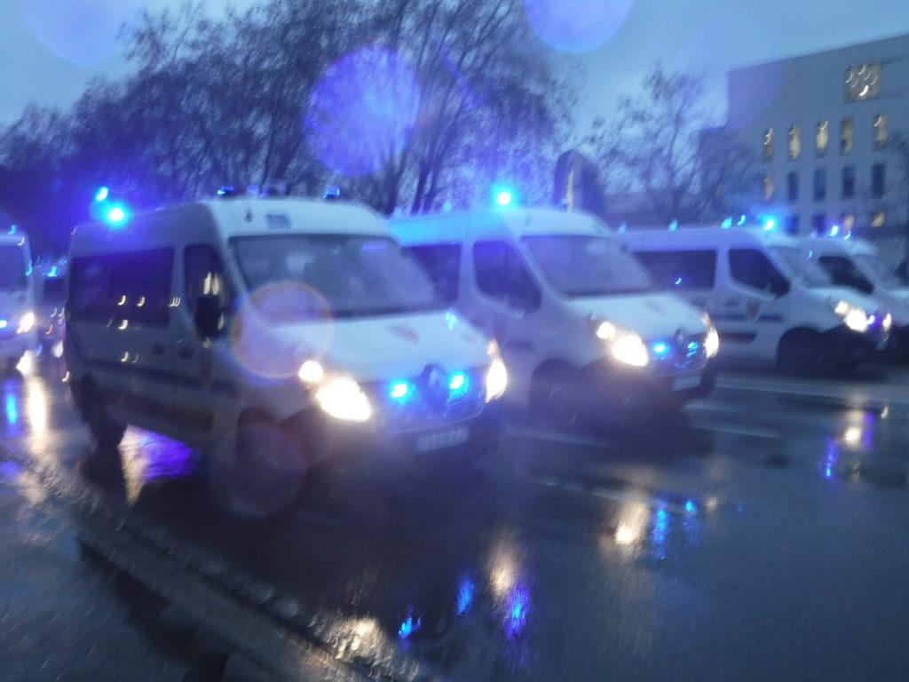 """La préfète du Bas-Rhin impose le même parcours, le 19 décembre, pour la 4e manifestation contre la loi """"sécurité globale"""""""