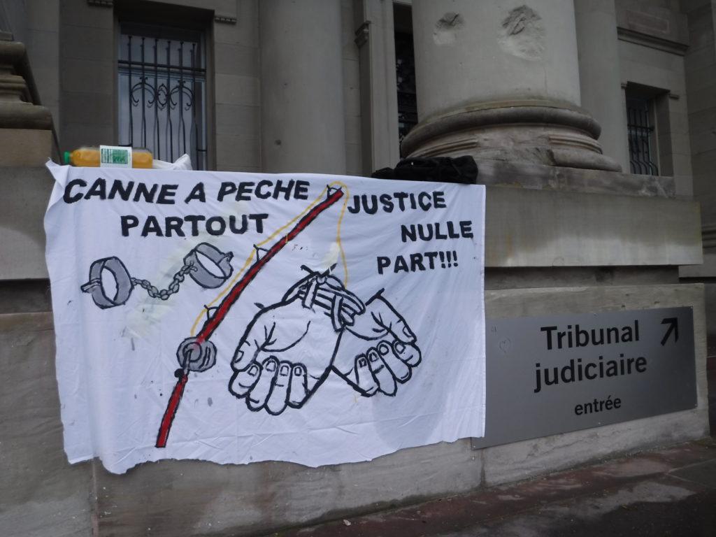 Deux gardés à vue après la manifestation de Strasbourg le 16 janvier 2021