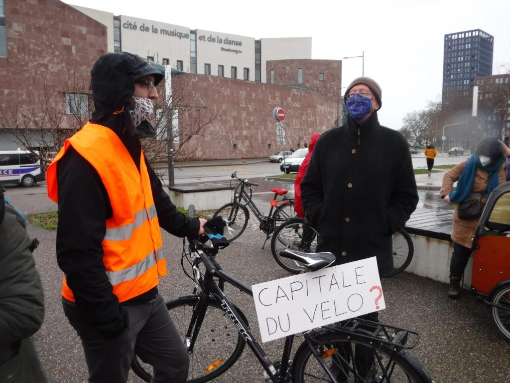 Strasbourg: Vélorution pour que les vélos soient à nouveau admis dans les trams