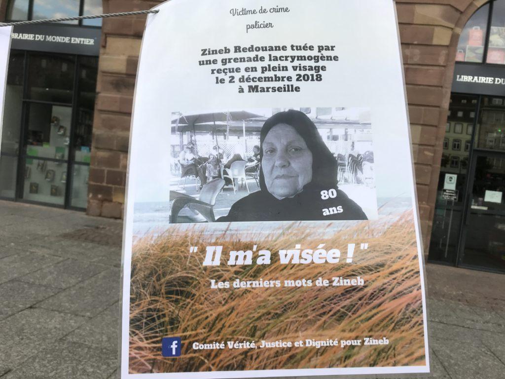 Témoignages à Strasbourg du racisme quotidien