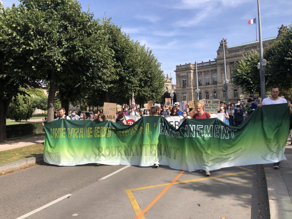 Deux manifs sinon rien, pour le climat et contre le pass sécuritaire à Strasbourg