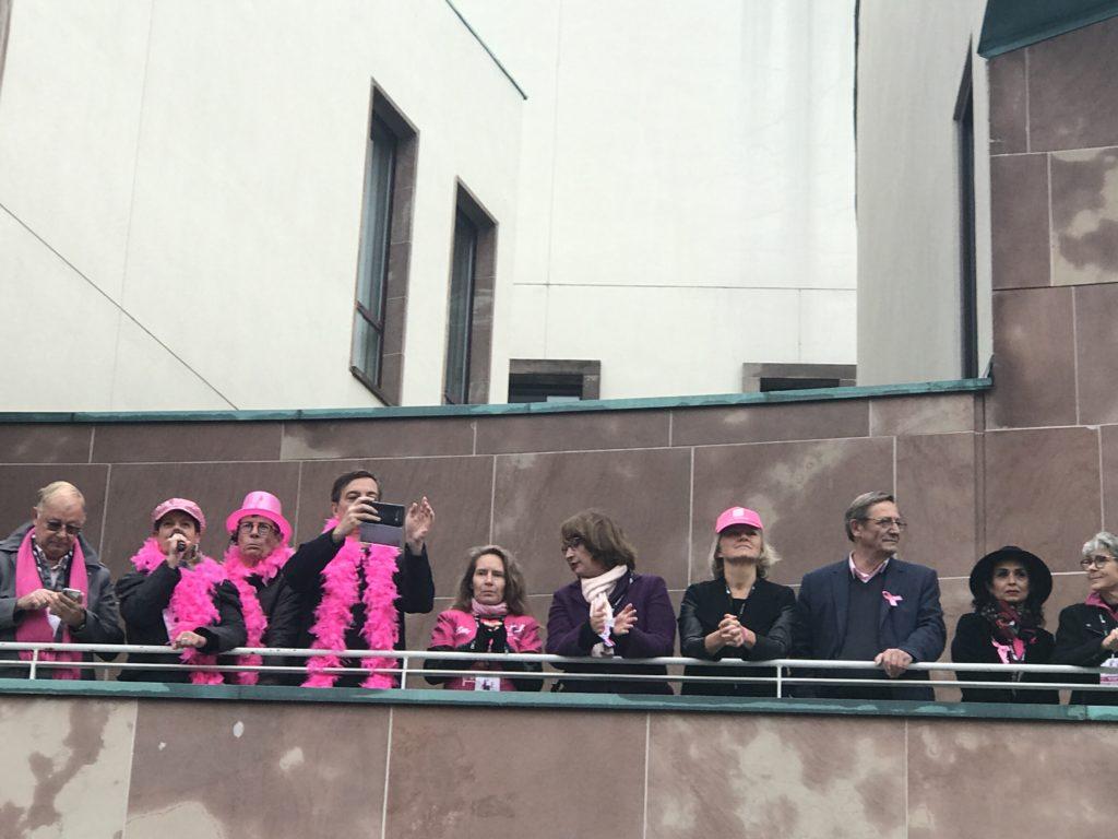 Course et marche contre le cancer du sein à Strasbourg