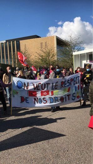 Conférence de presse de la Marche des Sans-Papiers