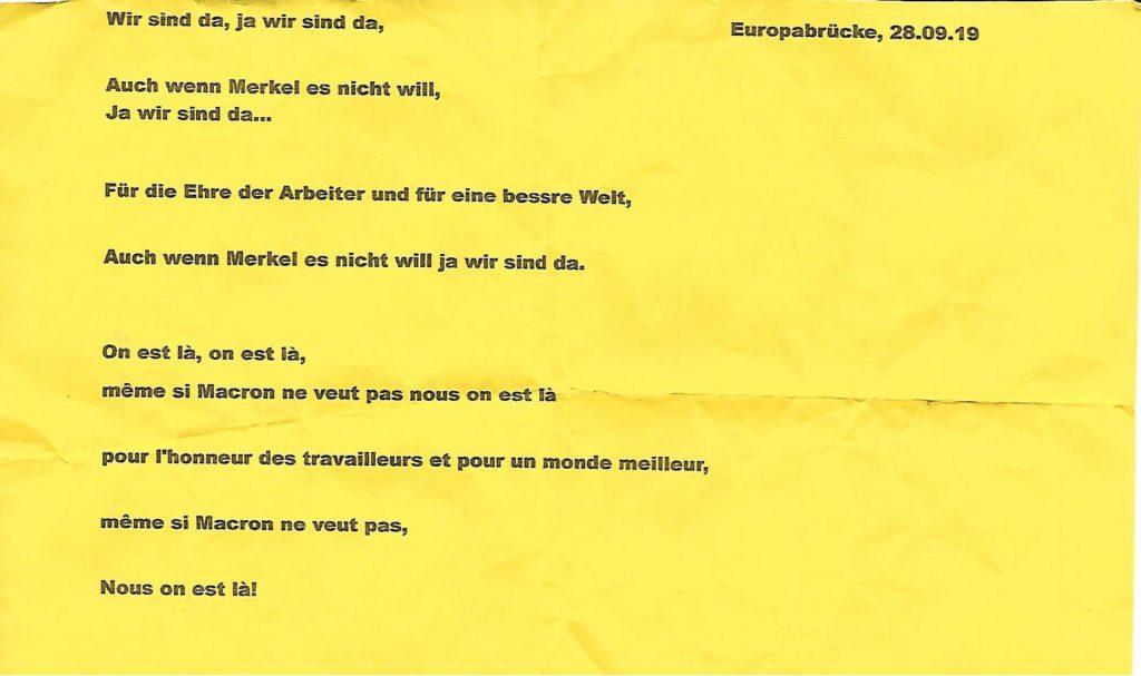 S'unir pour ne plus subir: Gilets Jaunes Strasbourg République