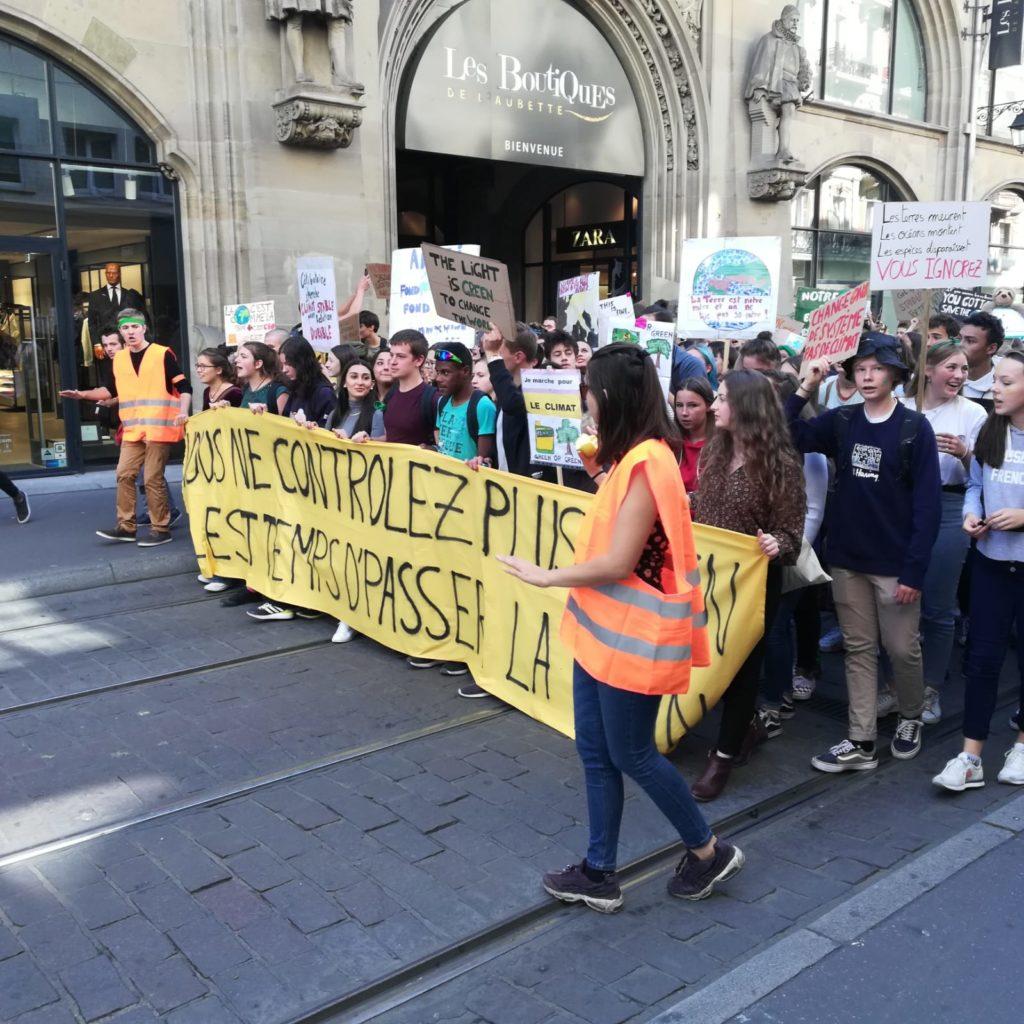 5000 manifestants à la Marche pour le Climat à Strasbourg