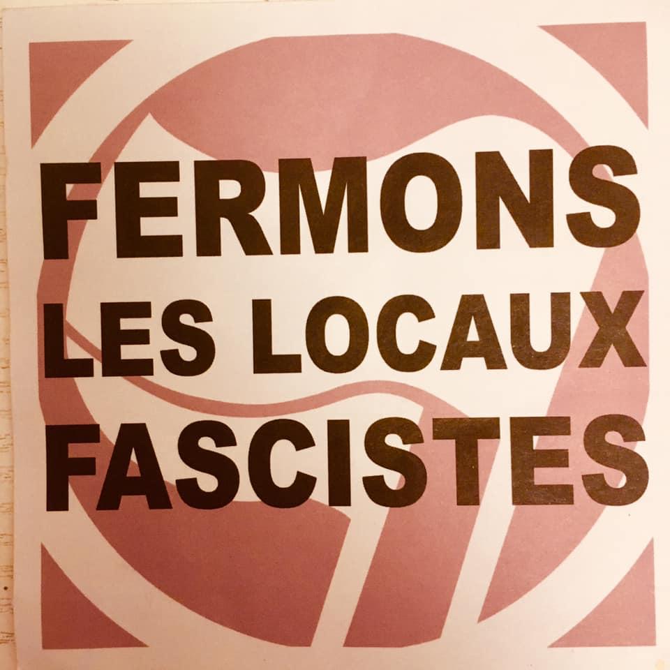 Manifestation à Strasbourg contre Vent d'Est ex Bastion Social