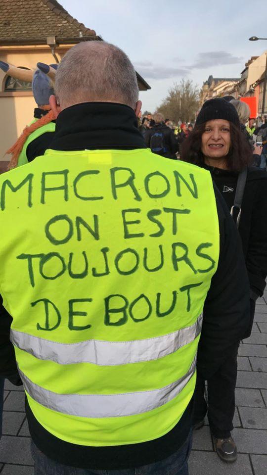 1500 manifestants à Strasbourg 11 janvier