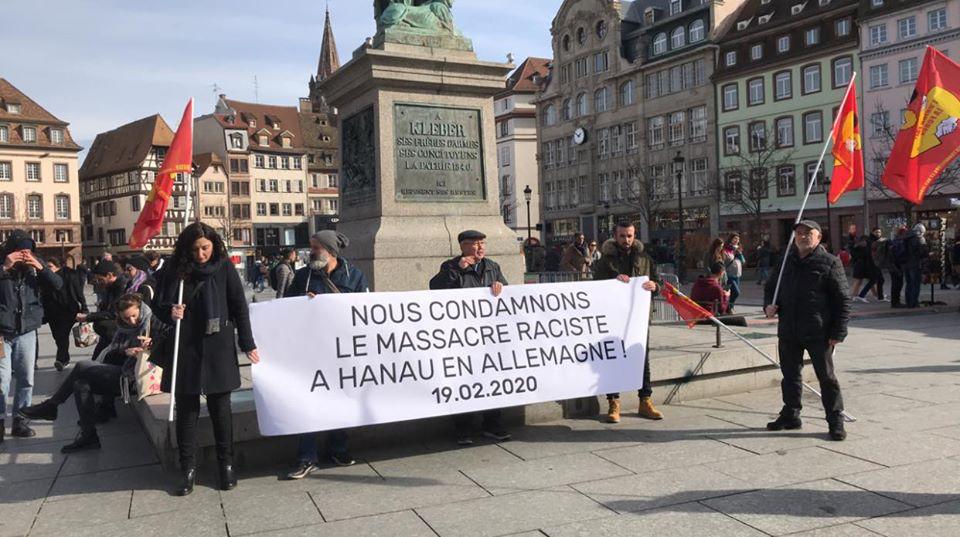 Contre les tueries néo-nazies à Hanau