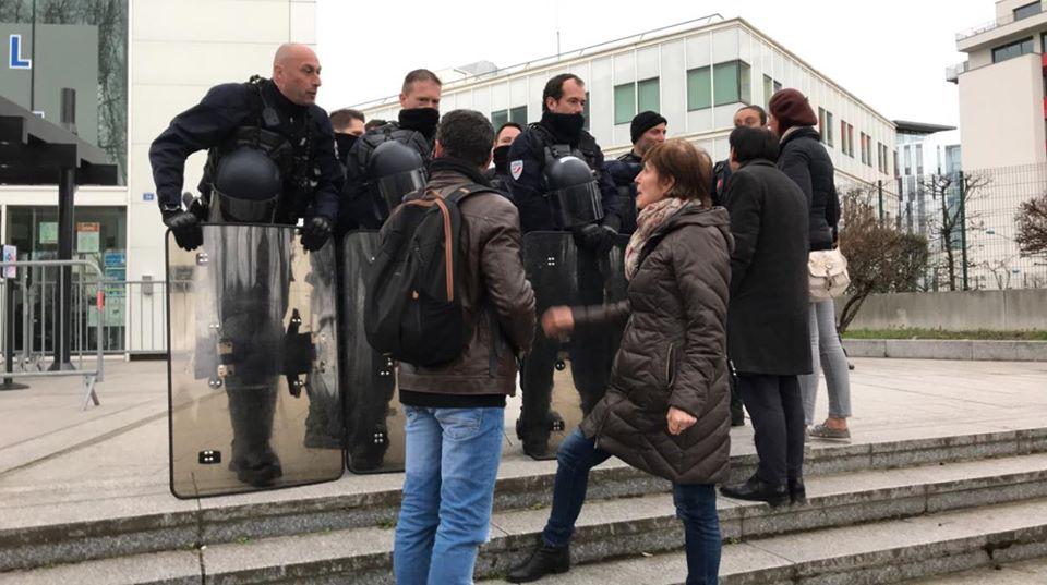 Rassemblement dimanche contre la GAV de Imad à Strasbourg