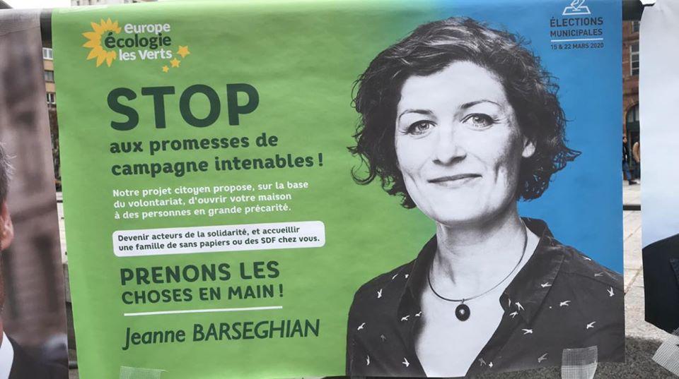 Fausses affiches électorales à Strasbourg