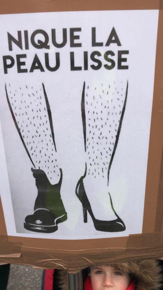 Marche féministe à Strasbourg