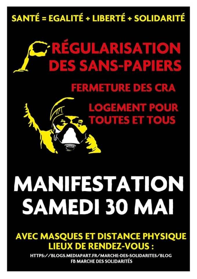 Répression tous azimuts à Strasbourg, migrants, antiracistes, gilets jaunes