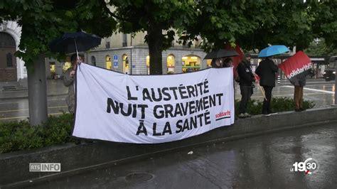 Appel à la grève et manifestation à la Clinique Rhéna
