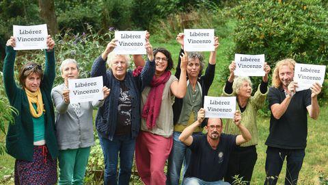 Ni prison, ni extradition, libérez Vincenzo! Vincenzo muss freigelassen werden!