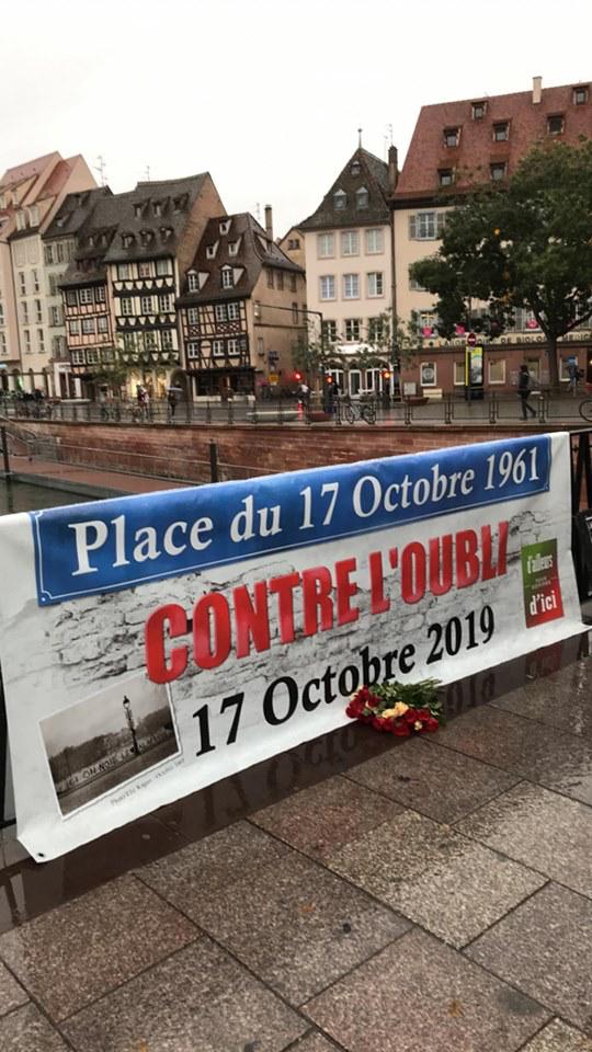 17 octobre 1961-17 octobre 2019 Strasbourg