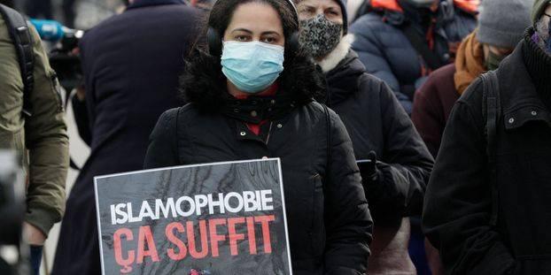 """Contre la loi sur le """"séparatisme"""", et l'islamophobie d'Etat au Trocadéro"""