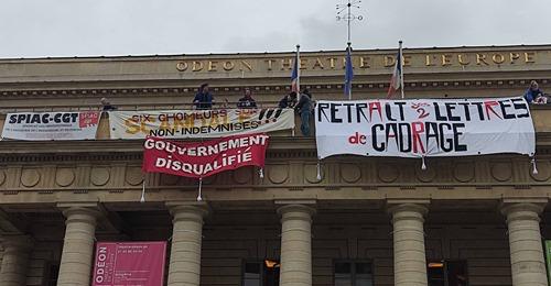 Mobilisation dans la culture: Strasbourg