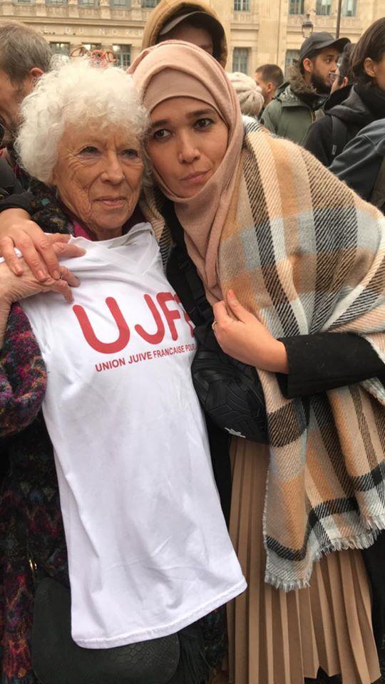 Discours d'Ismahane Chouder à la Marche contre l'islamophobie 10 novembre 2019