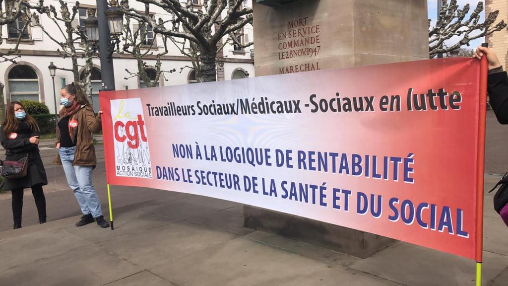 Santé-Social en lutte à Strasbourg