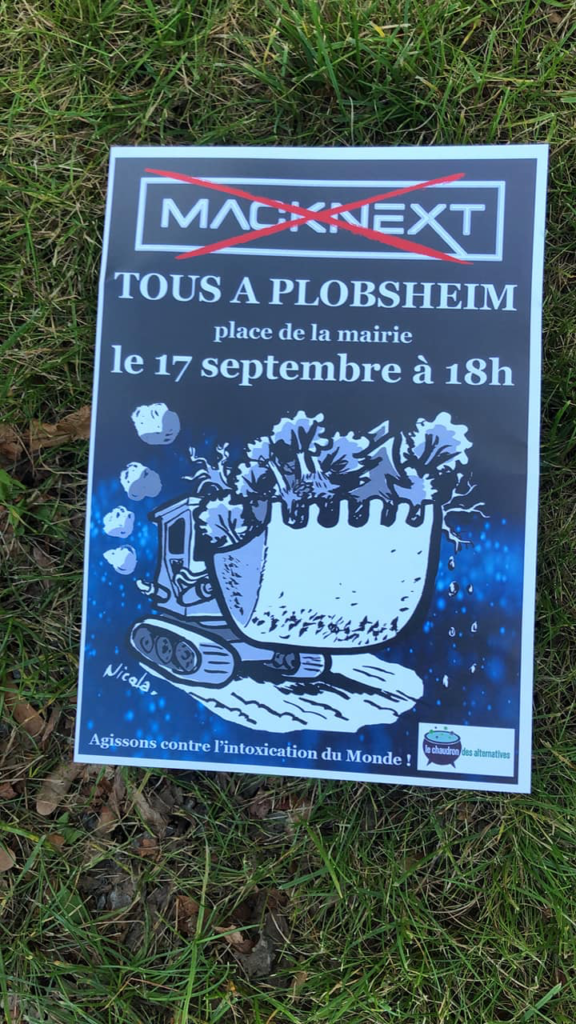Plobsheim: Chaudron des Alternatives contre Mack-EuropaPark