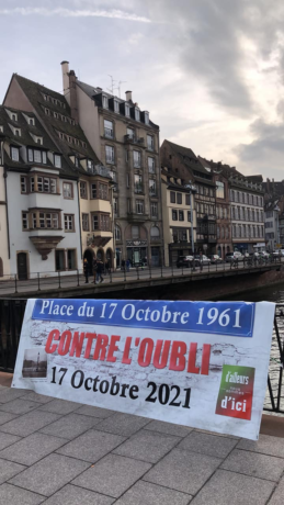 Commémoration du 17 octobre 1961 à Strasbourg