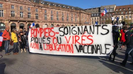 Un petit millier de manifestants à Strasbourg