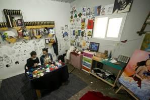 Masques anti-Covid-19 pour les enfants de Gaza