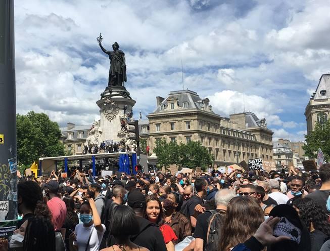 Désinformation des DNA sur la manifestation antiraciste contre les violences policières