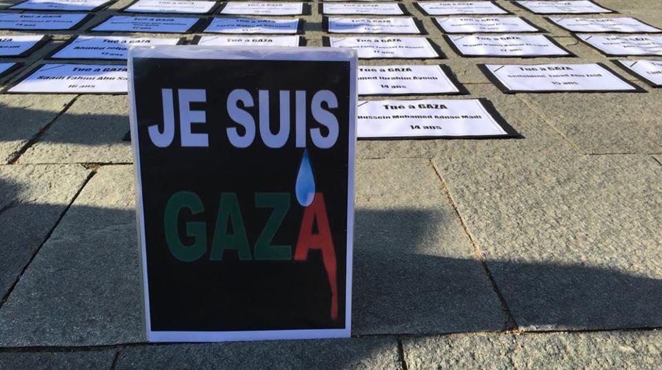 Gaza/UJFP: Khuza'a, remerciements et solidarité !