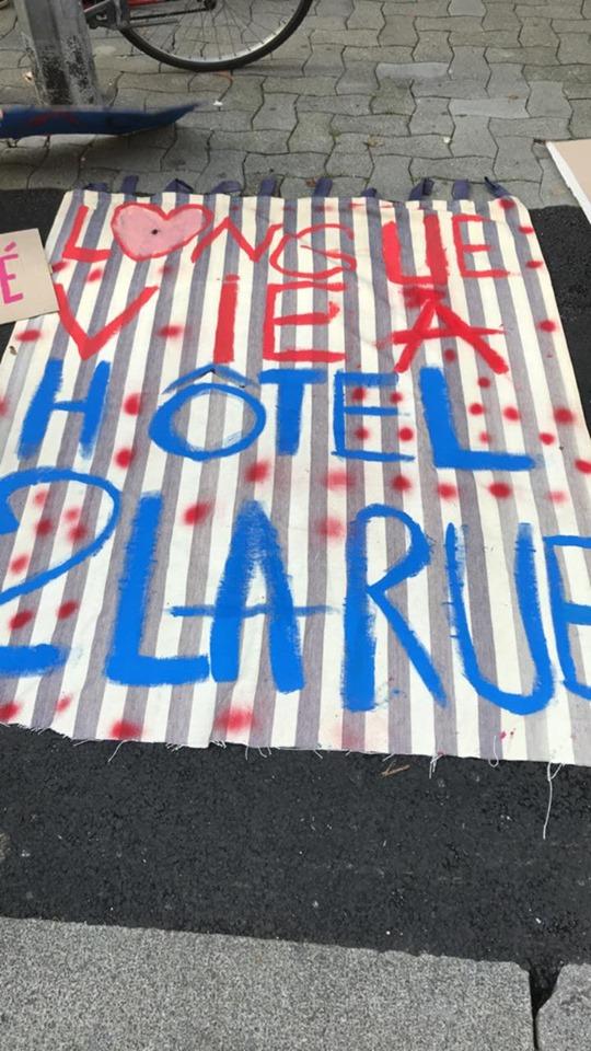Droit au logement: un sursis pour les habitants de l'Hôtel de la Rue à Strasbourg