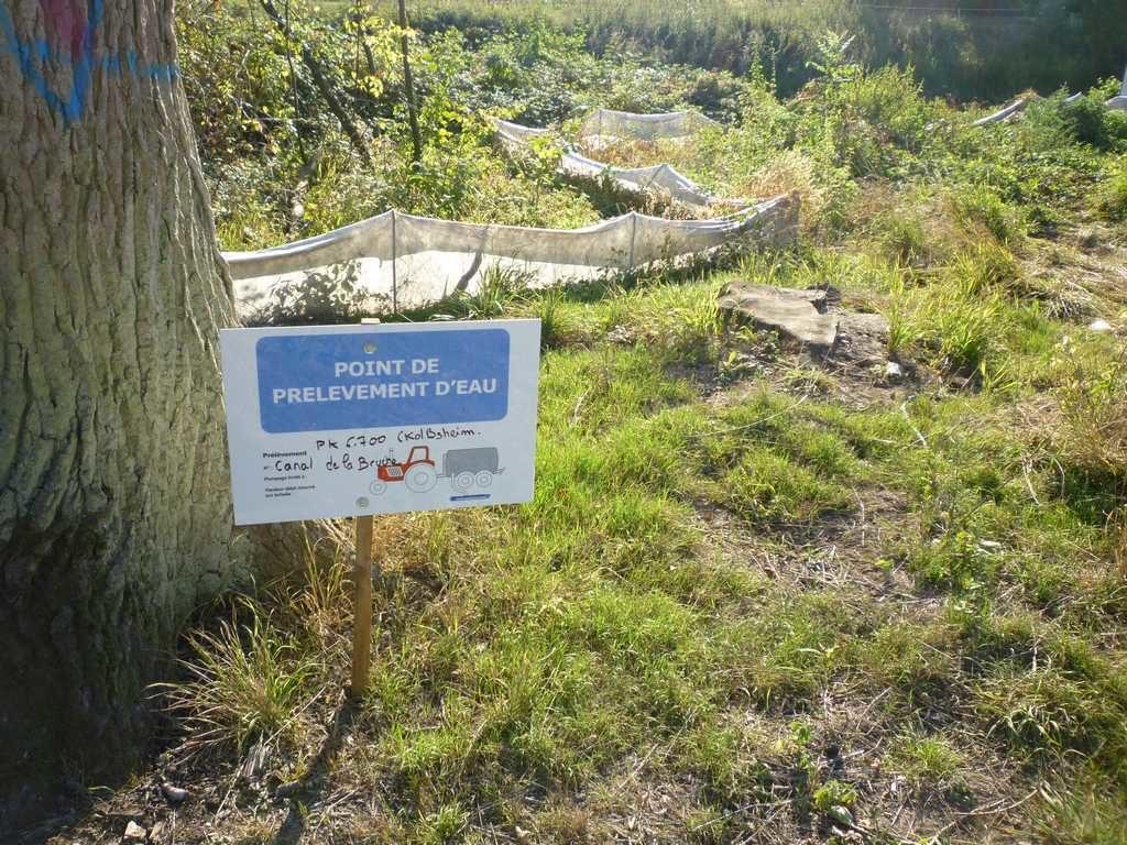 Malgré la sècheresse et le préfet, Vinci pompe l'eau de la Bruche et du canal